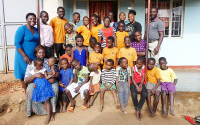 Besuch bei den Afrinena Waisen im Sommer 2018